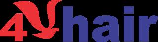 4U Hair logo
