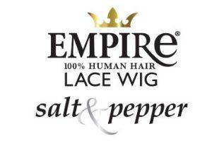 Empire SALT & PEPPER Human Wig