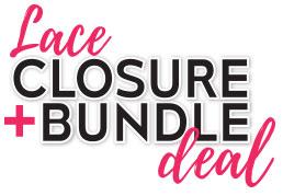 Lace Closure + Bundle Deal
